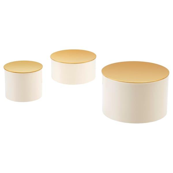 IKEA 格利其 装饰盒,3件套
