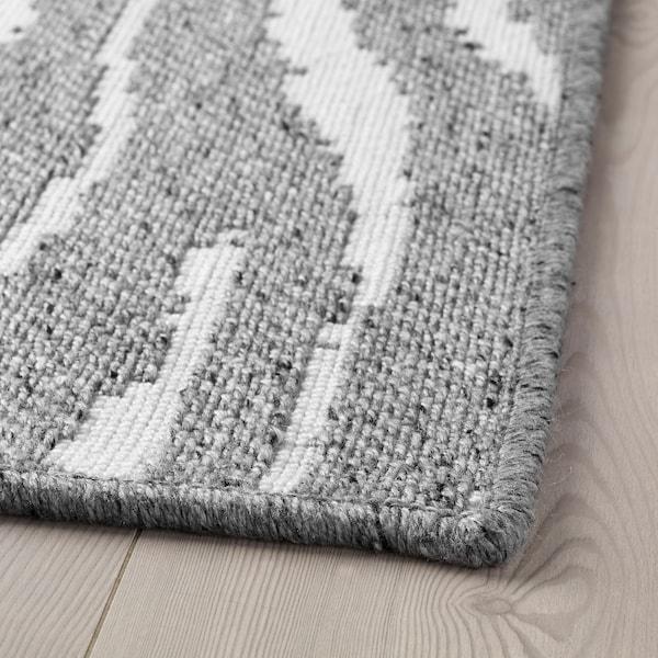 格鲁姆索 平织地毯 淡灰色 195 厘米 133 厘米 8 毫米 2.59 平方米 2600 克/平方米