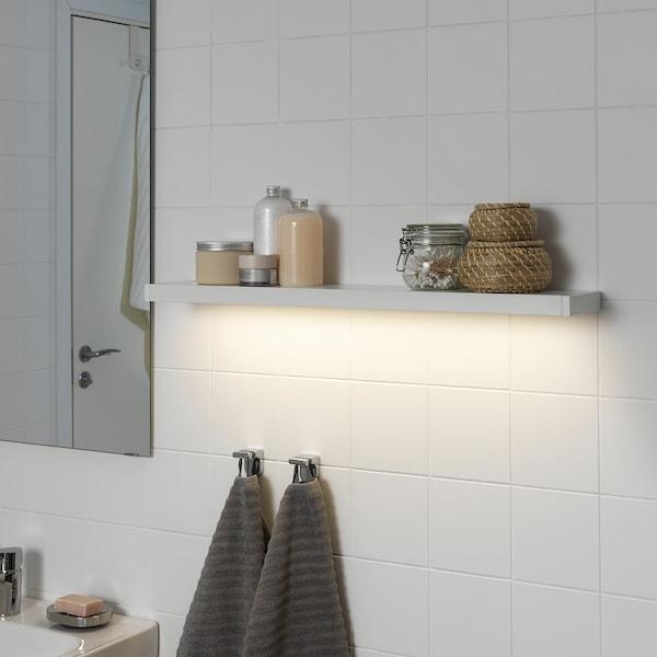 GODMORGON 古德莫 LED橱柜/墙壁照明, 白色, 80 厘米