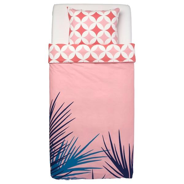 格拉希思 被套和枕套 瓷砖图案/粉红色 200 厘米 150 厘米 50 厘米 80 厘米
