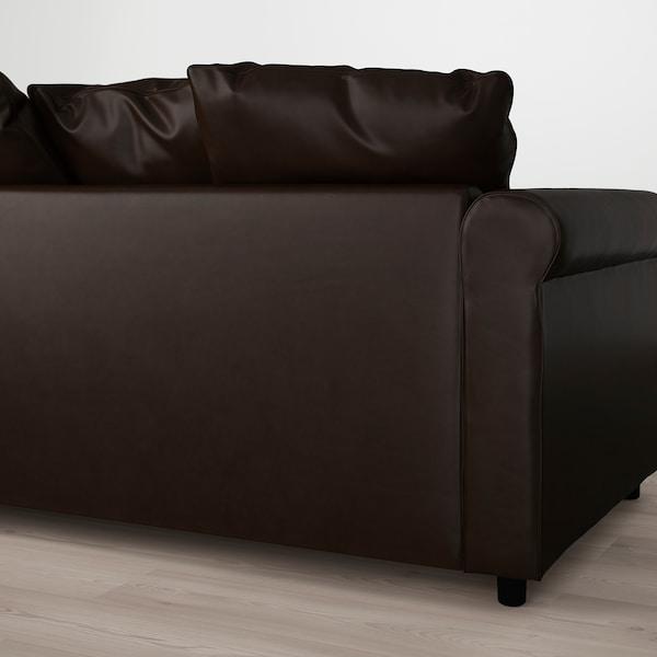 格罗恩里德 双人沙发 金斯托 深褐色 104 厘米 177 厘米 98 厘米 7 厘米 18 厘米 68 厘米 141 厘米 60 厘米 49 厘米