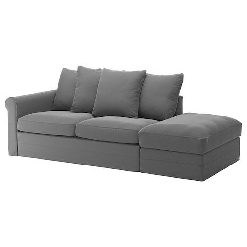 格罗恩里德 三人沙发床 单边开放式/利恩金 中灰色 53 厘米 104 厘米 68 厘米 231 厘米 98 厘米 60 厘米 49 厘米 140 厘米 200 厘米 12 厘米