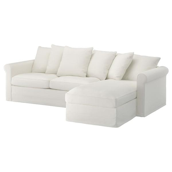 格罗恩里德 三人沙发床 带贵妃椅/格雷伯 白色 53 厘米 104 厘米 68 厘米 164 厘米 277 厘米 98 厘米 126 厘米 60 厘米 49 厘米 140 厘米 200 厘米 12 厘米