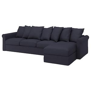 套: 带贵妃椅/欧斯塔 蓝黑色.