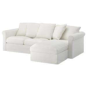 垫套: 带贵妃椅/格雷伯 白色.