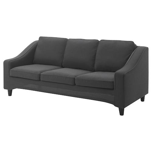 格瑞特比 三人沙发套 基尼萨 深灰色