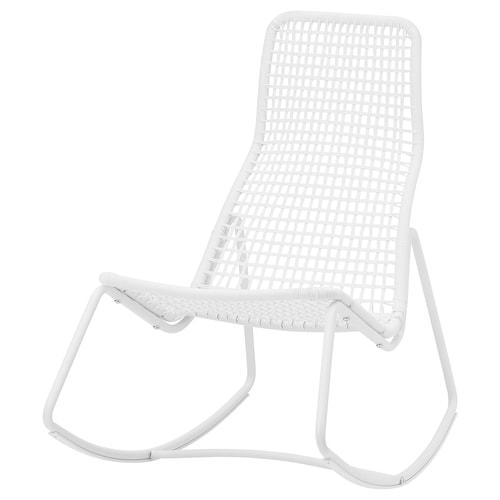 古贝恩 摇椅,室内/户外, 白色