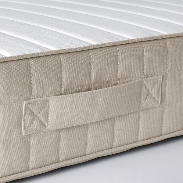 哈斯洛 弹簧床垫, 硬型/米黄色, 120x200 厘米
