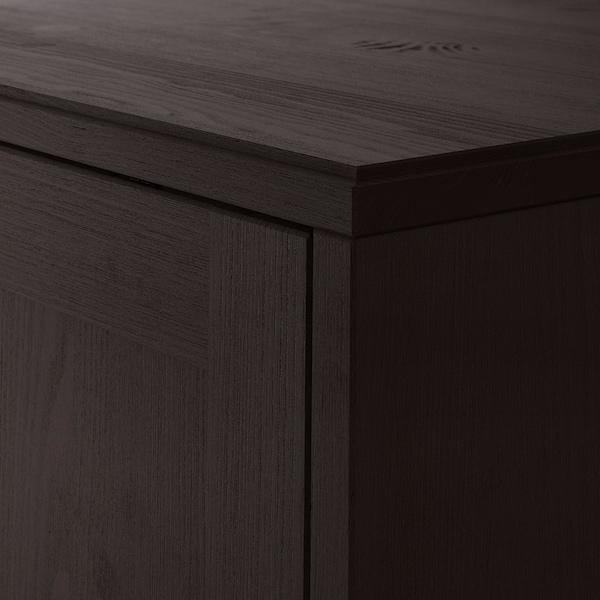 海思塔 柜子, 深褐色, 81x35x123 厘米
