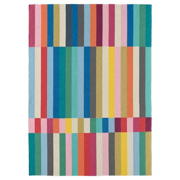 哈尔维 平织地毯 手工制作 多色 240 厘米 170 厘米 6 毫米 4.08 平方米 1970 克/平方米