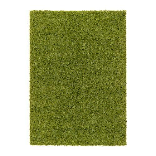 客厅 地毯 大号和中号地毯  长绒地毯, 亮绿色             299.