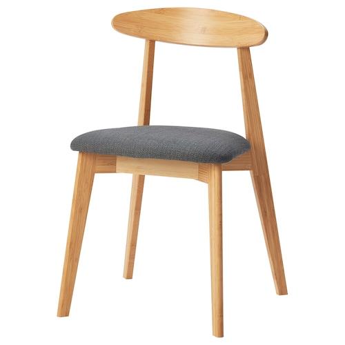 汉索拉 椅子, 竹/西拉利德 煤黑色