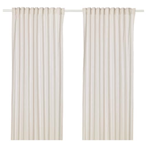 汉娜利尔 窗帘,2幅 米黄色 250 厘米 145 厘米 1.00 公斤 3.63 平方米 2 件
