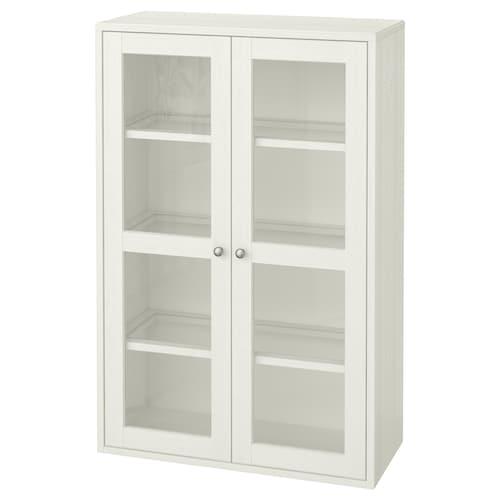 海思塔 玻璃门柜 白色 81 厘米 35 厘米 123 厘米 23 公斤