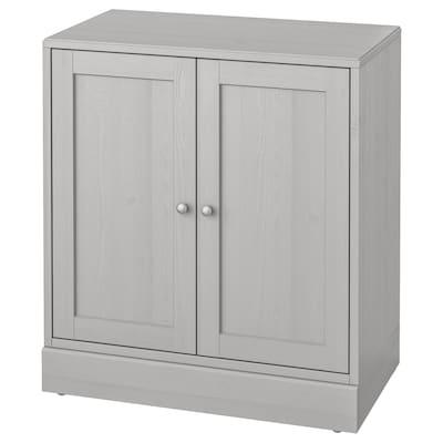 HAVSTA 海思塔 柜附踢脚板, 灰色, 81x47x89 厘米