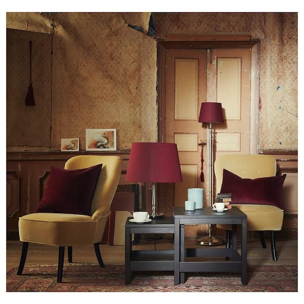 海思塔 套桌,2件套 深褐色