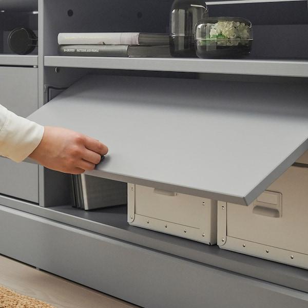 海思塔 电视机组合柜 灰色 241 厘米 47 厘米 89 厘米 31 公斤