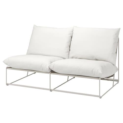 霍夫斯田 双人沙发,室内/户外 不带扶手/米黄色 164 厘米 94 厘米 90 厘米 62 厘米 42 厘米