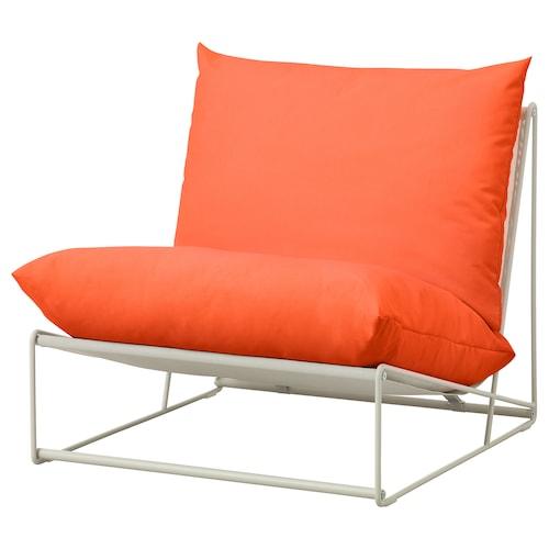 霍夫斯田 休闲椅,室内/户外 橙色/米黄色 83 厘米 94 厘米 90 厘米 62 厘米 42 厘米
