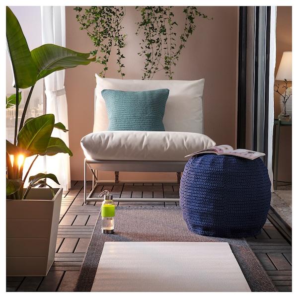 霍夫斯田 休闲椅,室内/户外 米黄色 83 厘米 94 厘米 90 厘米 62 厘米 42 厘米
