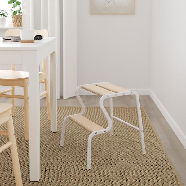HELLESTED 海勒特 平织地毯, 自然色/褐色, 170x240 厘米