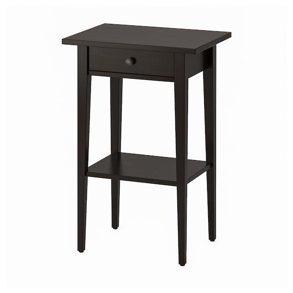 汉尼斯 床头桌 黑褐色 46 厘米 35 厘米 70 厘米