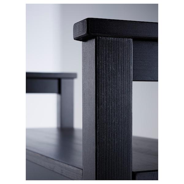 汉尼斯 长凳,可放鞋 黑褐色 85 厘米 32 厘米 65 厘米