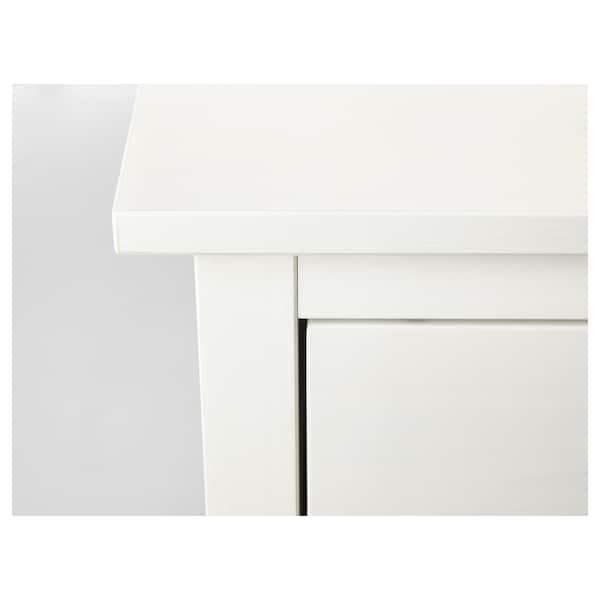 汉尼斯 两斗抽屉柜 白色漆 54 厘米 38 厘米 66 厘米 31 厘米