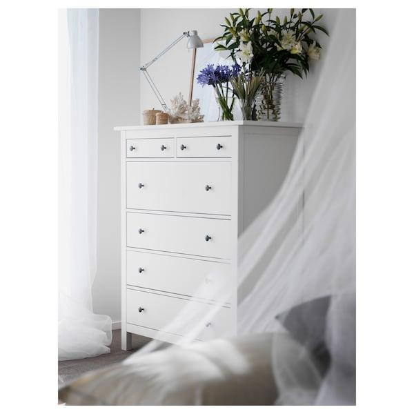 汉尼斯 6屉柜 白色漆 108 厘米 50 厘米 131 厘米 43 厘米