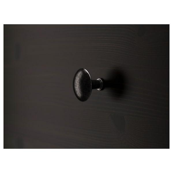 汉尼斯 6屉柜 黑褐色 108 厘米 50 厘米 131 厘米 43 厘米