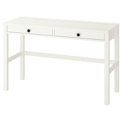 汉尼斯 双屉桌 白色漆 120 厘米 47 厘米 75 厘米 15 公斤