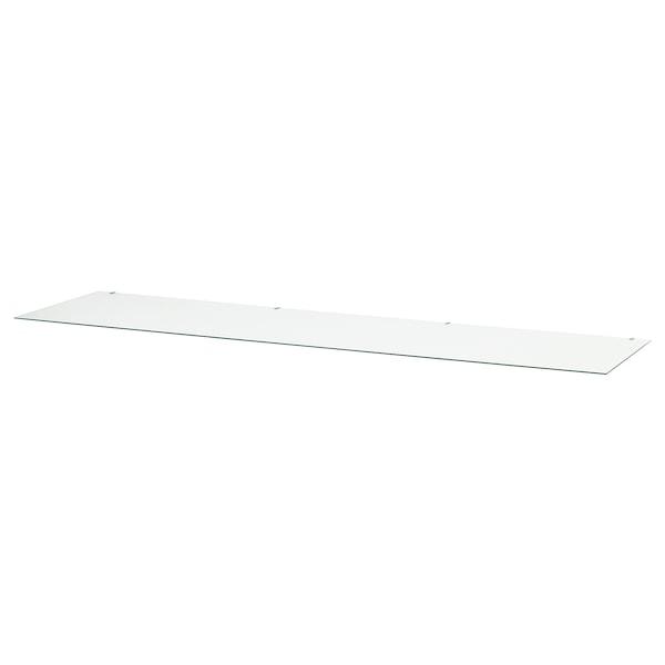 汉尼斯 玻璃桌面 透明 159 厘米 50 厘米