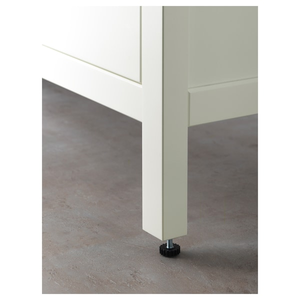 HEMNES 汉尼斯 双屉洗脸池柜, 白色, 100x47x83 厘米