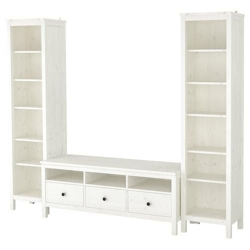 汉尼斯 电视机组合柜 白色漆 245 厘米 198 厘米 37 厘米 47 厘米