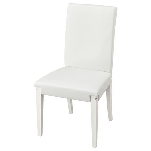 亨利克 椅架, 白色