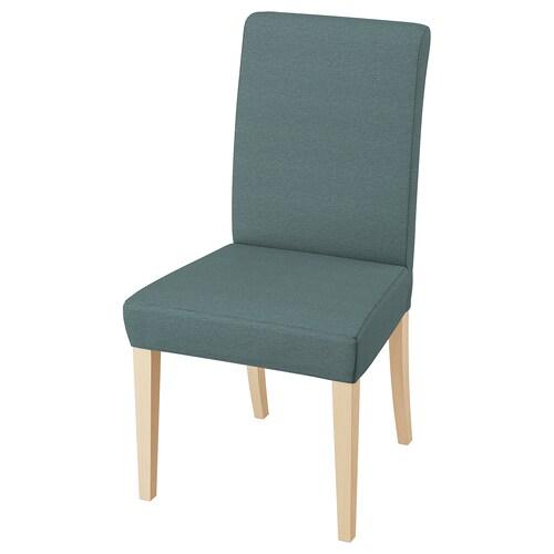 亨利克 椅子 桦木/芬斯塔 天蓝色 110 公斤 51 厘米 58 厘米 97 厘米 51 厘米 42 厘米 47 厘米