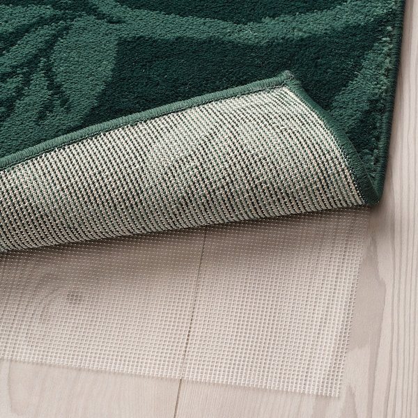 HILDIGARD 希尔笛加 短绒地毯, 绿色, 133x195 厘米