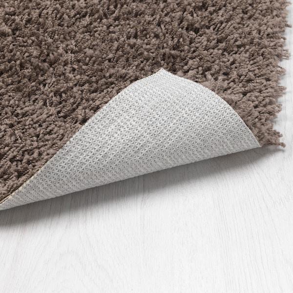 荷依露 长绒地毯 灰褐色 180 厘米 120 厘米 8 毫米 2.16 平方米 1260 克/平方米 570 克/平方米 6 毫米 26 毫米