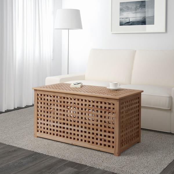 霍尔 储物桌, 相思木, 98x50 厘米