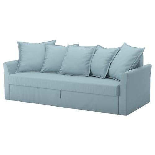 霍姆桑德 三人沙发床, 欧斯塔 浅蓝色