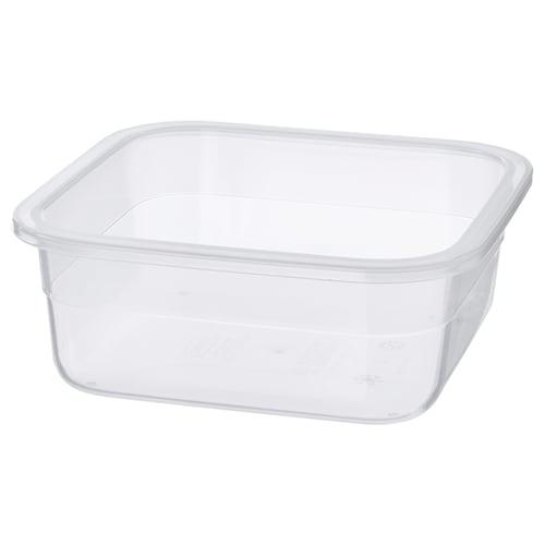 IKEA 365+ 食品盒 正方形/塑料 15 厘米 15 厘米 6 厘米 750 ml