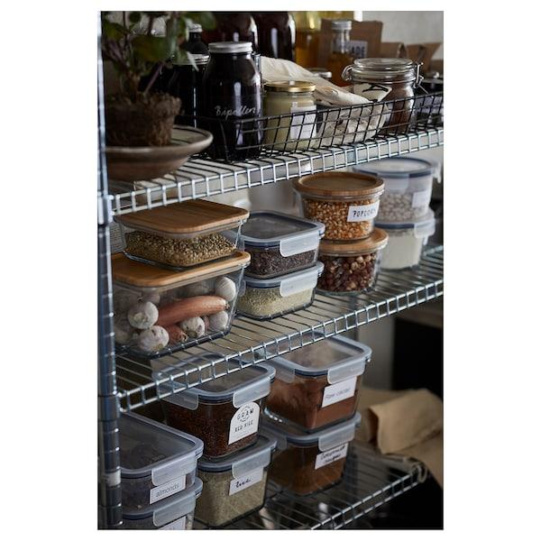 IKEA 365+ 附盖食品盒 正方形/塑料 15 厘米 15 厘米 7 厘米 750 ml