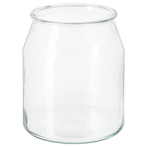 IKEA 365+ 瓶 圆形/玻璃 19 厘米 17 厘米 3.3 公升