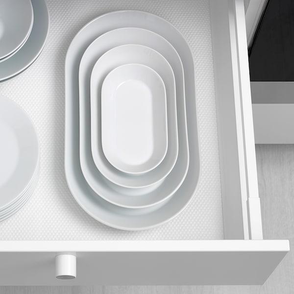 IKEA 365+ 上菜盘 白色 24 厘米 13 厘米 4 厘米