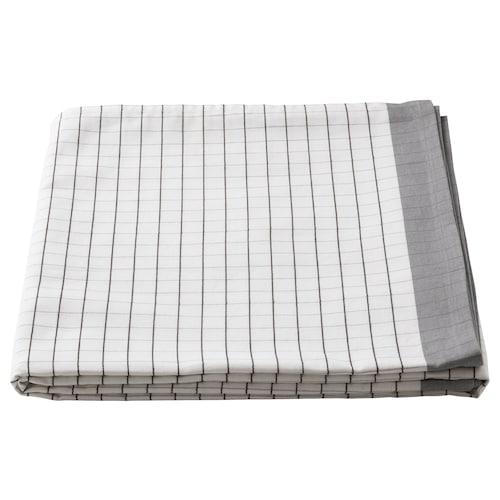 IKEA 365+ 桌布 白色/灰色 145 厘米 145 厘米