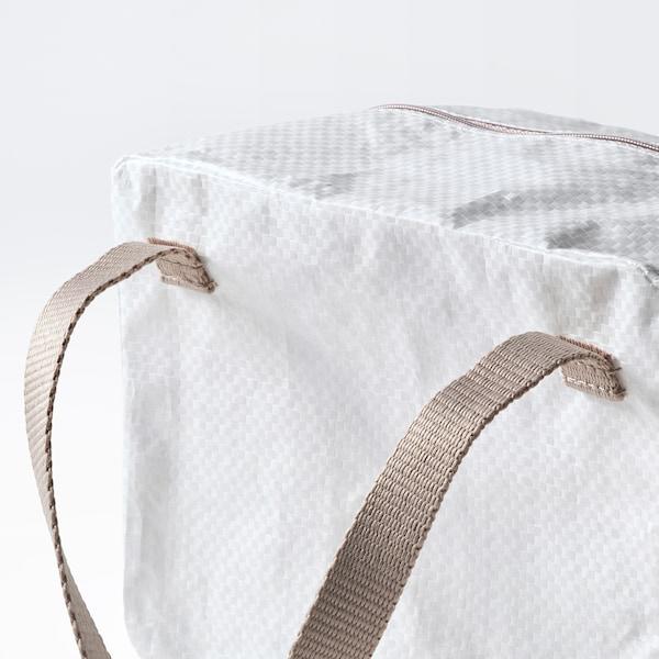 IKEA 365+ 便当包, 白色/米黄色, 22x17x16 厘米