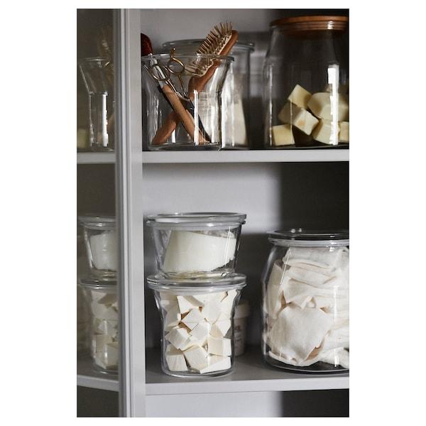 IKEA 365+ 附盖食品盒, 玻璃, 600 ml