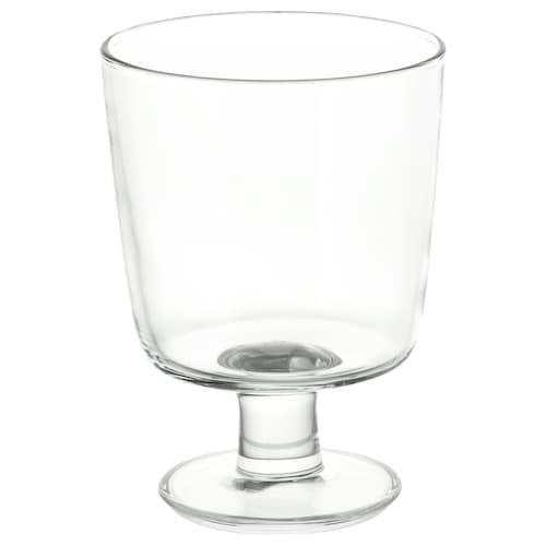 IKEA 365+ 高脚杯, 透明玻璃, 30 厘升