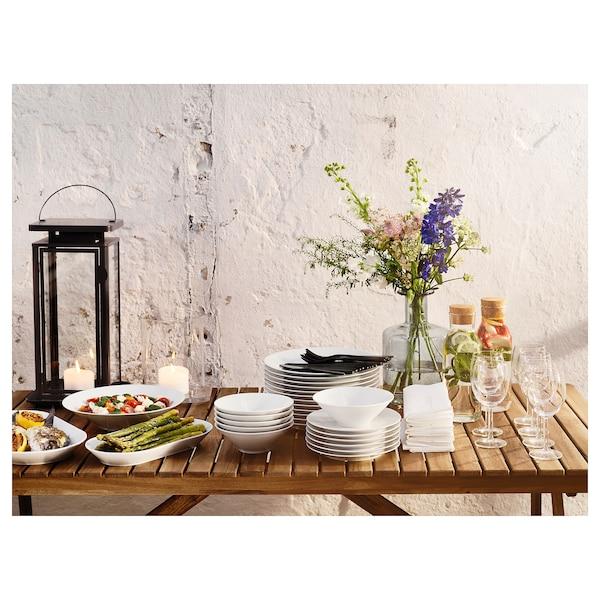 IKEA 365+ 上菜盘, 白色, 31x17 厘米