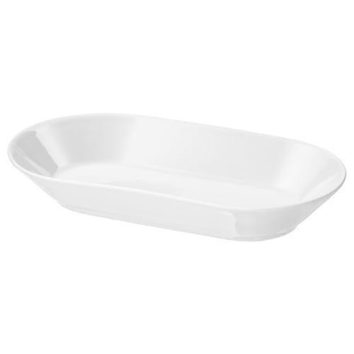 IKEA 365+ 上菜盘, 白色, 24x13 厘米